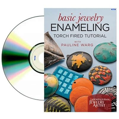 basic jewelry supplies basic jewelry enameling dvd by pauline warg dvd s