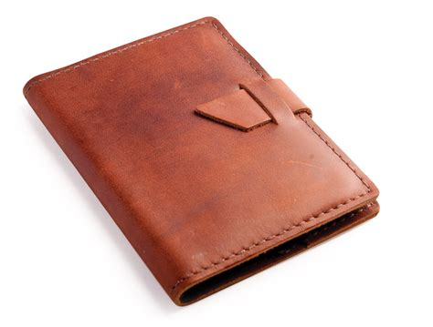 book in with picture rustic leather brag book by blue sky papers