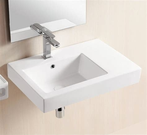 wall mounted kitchen sink wall mounted ceramic sink with counter space modern