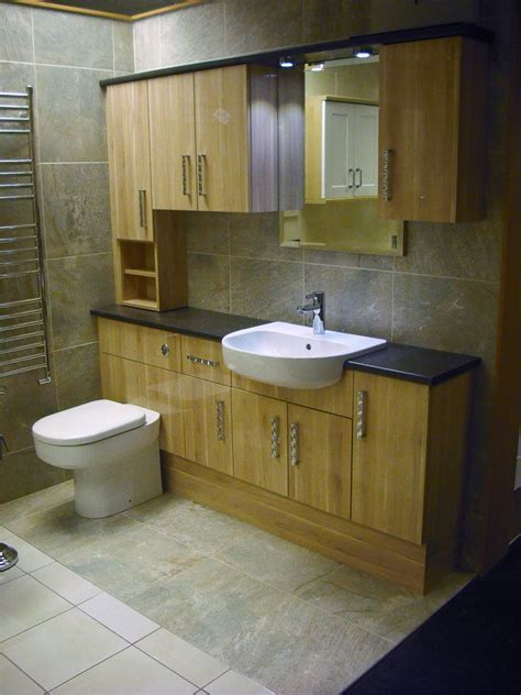 fitted bathroom ideas natura gloss applewood fitted furniture best kitchen