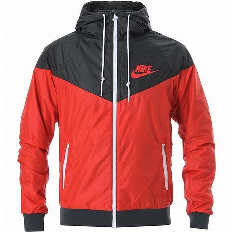 Nike Windrunner Hoody Jacket Black White Windbreaker