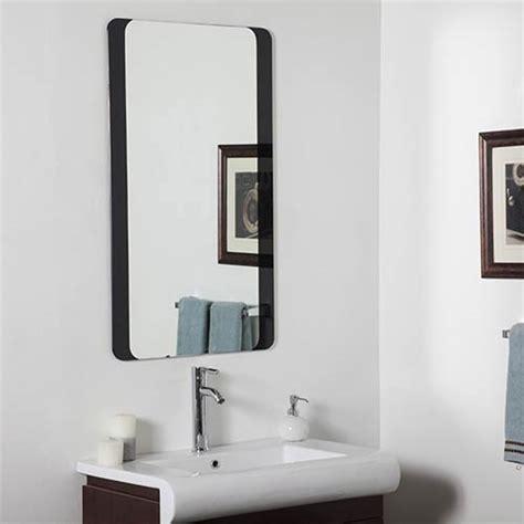 large frameless bathroom mirrors rectangular large frameless bathroom mirror decor