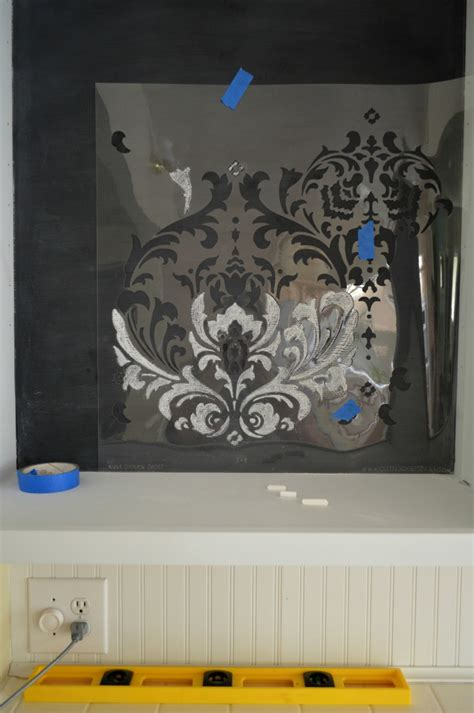 chalk paint stencils how to stencil with chalk tips to get it right fox