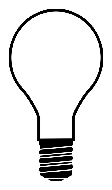 silhouettes lights file light bulb silhouette svg wikimedia commons