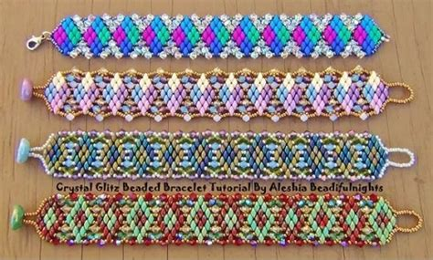 beading with superduos superduo and beaded bracelet tutorials the