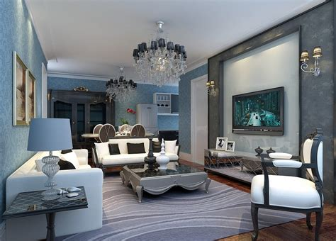blue interior design light blue interior design pics hd 3d house