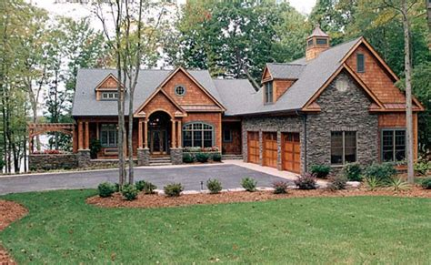hillside home plans craftsman style hillside house plan family home plans