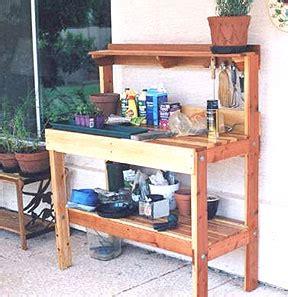 Gardening Workbench Pdf Diy Greenhouse Work Bench Plans