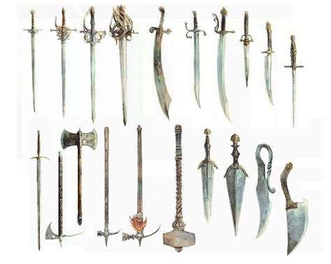 sword list how i weapons for a gentler crusades