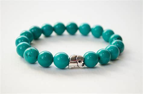 how to make turquoise jewelry turquoise bracelet silver elephant bracelet gemstone