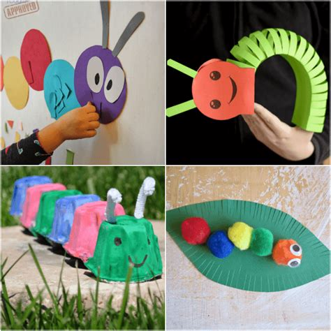 Caterpillar Crafts And Activities For From Abcs To Acts