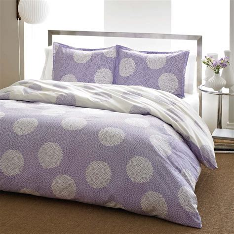 purple polka dot comforter sets total fab purple polka dot bedding
