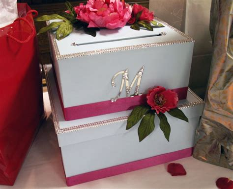 how to make a wedding card holder diy wedding card box second finished image