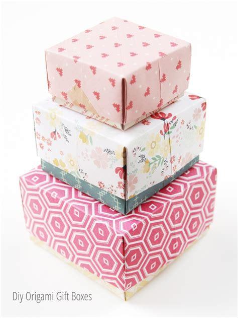 diy origami box gathering diy origami gift boxes