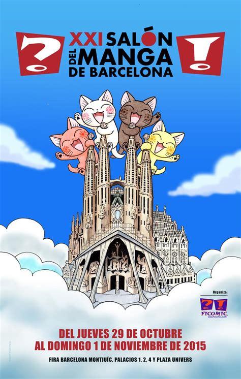 salon de manga barcelona xxi sal 243 n del manga de barcelona