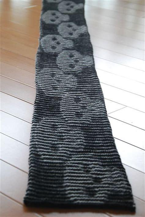 skull scarf knitting pattern ravelry s skull illusion scarf pattern by cathy