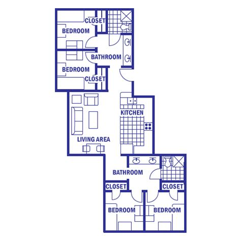 Cing Toilet The Range by Floor Plans And Rates