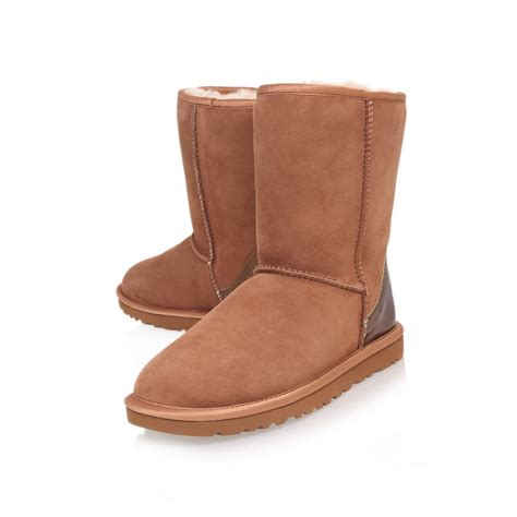 ugg boots ugg classic boots in brown lyst