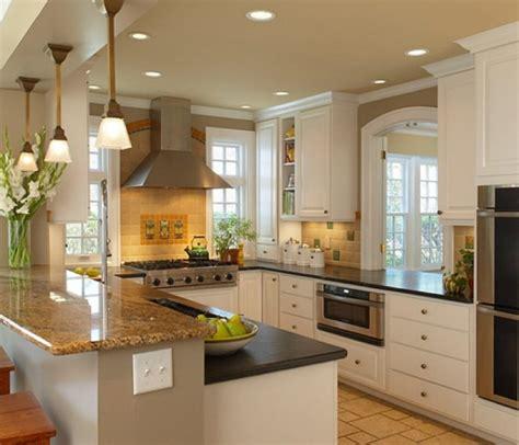 working kitchen designs u shaped kitchen large working space that runs freely