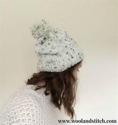 chunky yarn knit hat pattern marley chunky hat knitting pattern wool and stitch