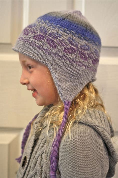 knitting patterns for baby hats with ears ear flap hat knit pattern by knitpicks knitting