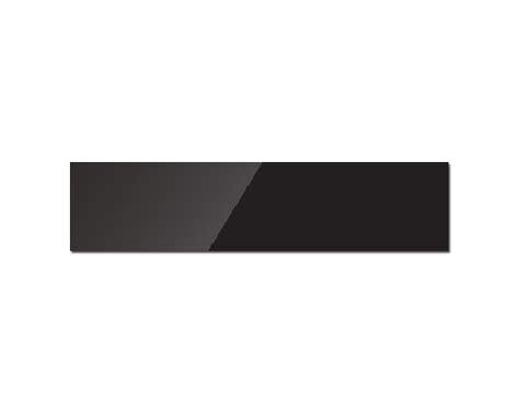 black glass black glass splashback upstand 140mm x 1000mm black