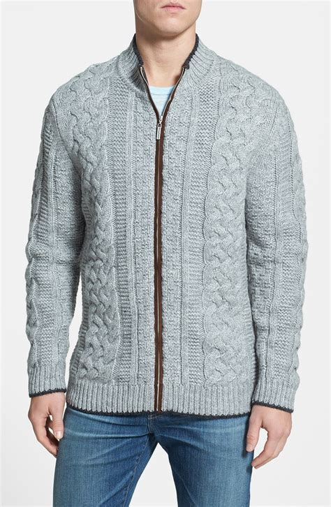 grey cable knit cardigan bahama upstate cable knit wool blend cardigan in