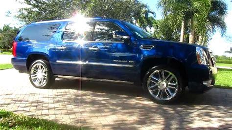 Cadillac Escalade Blue by 2012 Escalade Xenon Blue By Advanced Detailing Of South