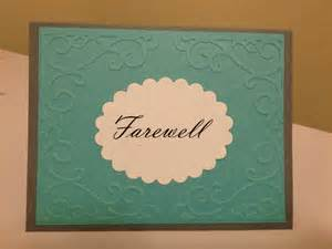 how to make a farewell card eicats cards just another site