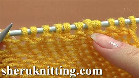 how to pfb in knitting how to knit purl 1 back and front increase tutorial 8