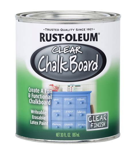 chalk paint joann clear chalkboard paint 30oz at joann