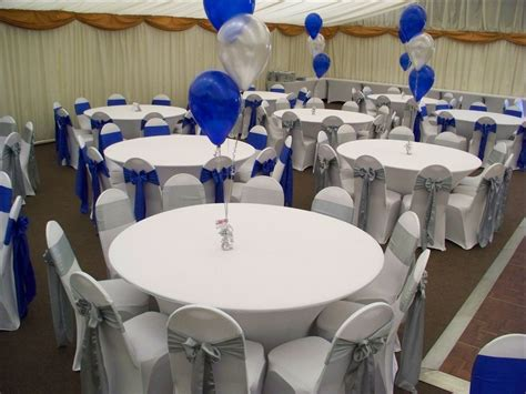 royal blue and silver centerpieces lenore wedding centerpiece diy silver centerpieces