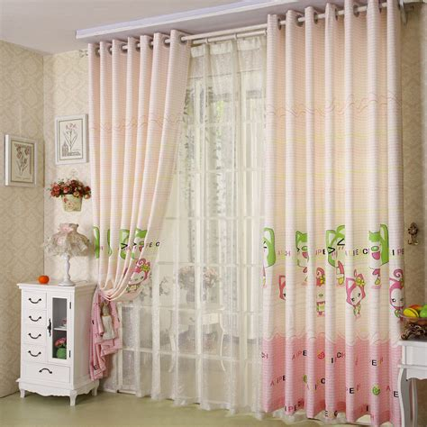 pink nursery curtains patterned nursery pink children curtains