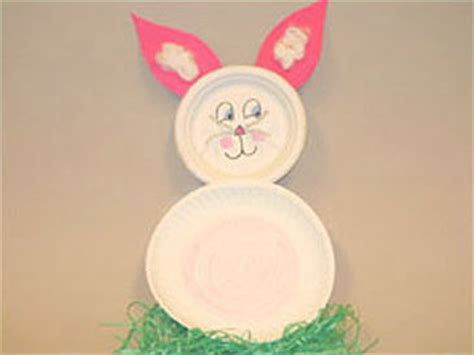 easter bunny paper plate craft paper plate easter bunny and other activities