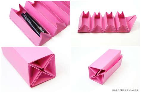 origami up box origami accordion box tutorial diy roll up box paper