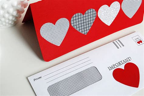 make a valentines card make a card using recycled security envelopes