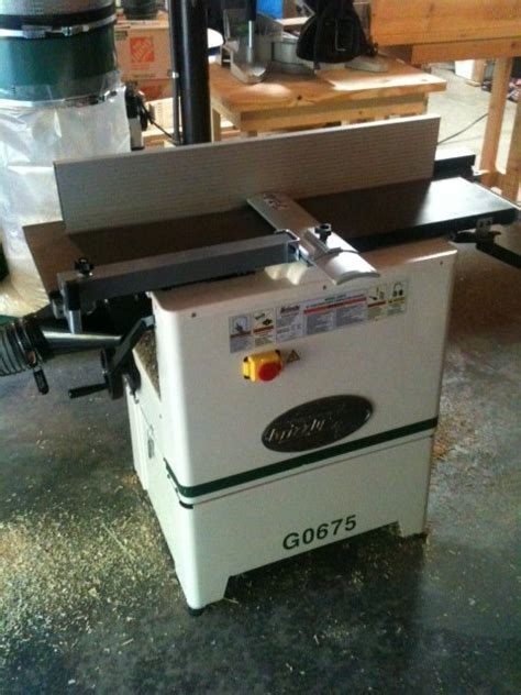 woodworking jointer reviews review grizzly g0675 10 quot jointer planer combo review by