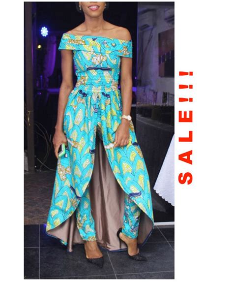 ghanaian waist for sale sale clothing print jumpsuit by