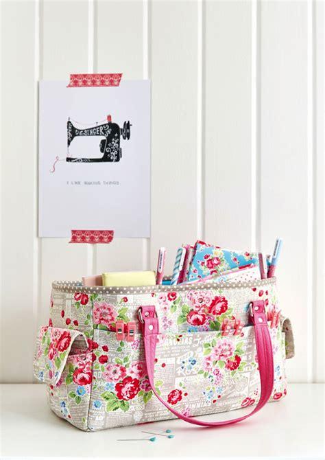 craft sewing patterns free oslo craft bag pattern sew sweetness