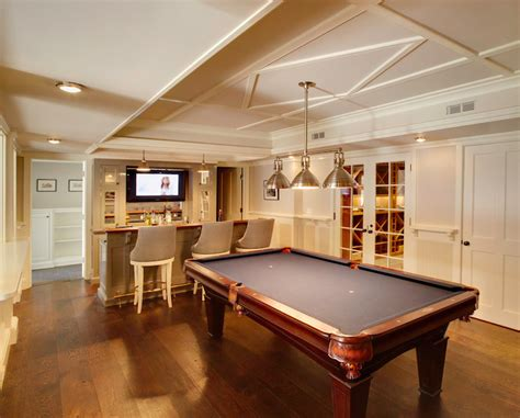 Ballard Designs Wallpaper basement with wet bar transitional basement