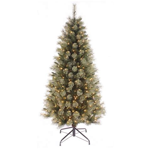 pre lit led trees artificial pre lit warm white led tree