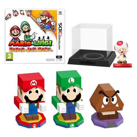Mario Wall Stickers Uk mario amp luigi paper jam bros toad amiibo pack