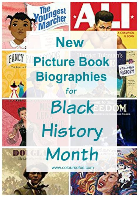 picture book biographies 8 new picture book biographies for black history month