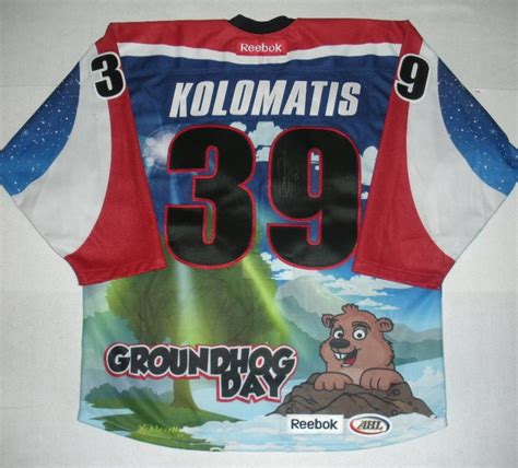 groundhog day auction david kolomatis hershey bears groundhog day