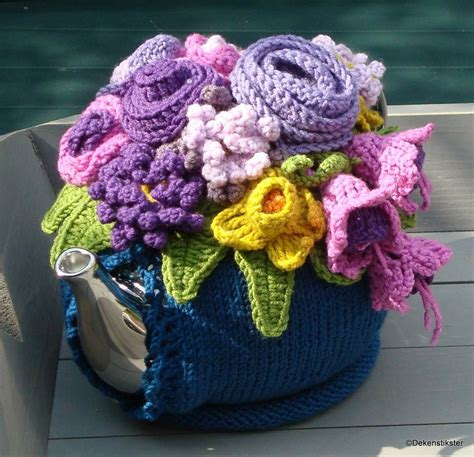 knitted teapot covers teapot cover crochet knitting crochet teapot cover