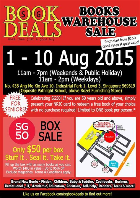 Sg Book Deals Fill As Many Books As You Want For 50 1