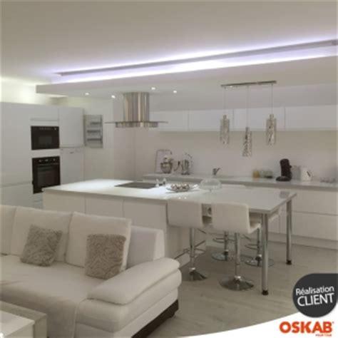 modele de cuisine 681 cuisine tendance et sophistiqu 233 e blanche et sans poign 233 e
