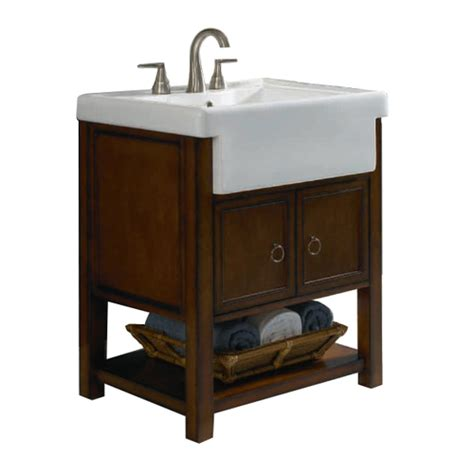 lowes bathroom vanity with sink allen roth mitchell bath vanity with farmhouse sink
