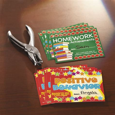 card punches 17 best ideas about behavior punch cards on