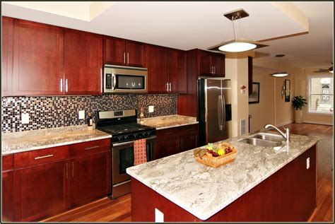 cherry kitchen cabinets with granite countertops the best 28 images of cherry kitchen cabinets with granite